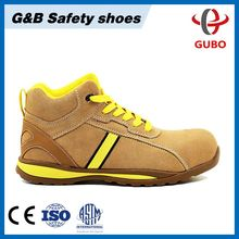2017 new light genuine leather S3 aniti-nail safety shoes sports safety
