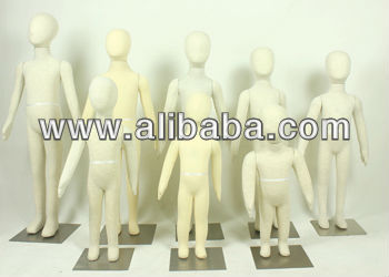 Flexible Foam Mannequin Beige For Sale