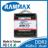 Wholesale Laptop part DDR3 1333 4GB SO ram for all chipset on all types of DELL Laptops