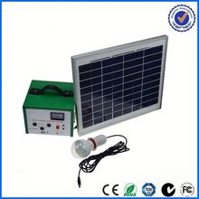 mini 100w solar system for phone and light 12v portable solar panel