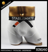 wholesale high quality and competitive price plain white cotton mens underwear boxer briefs