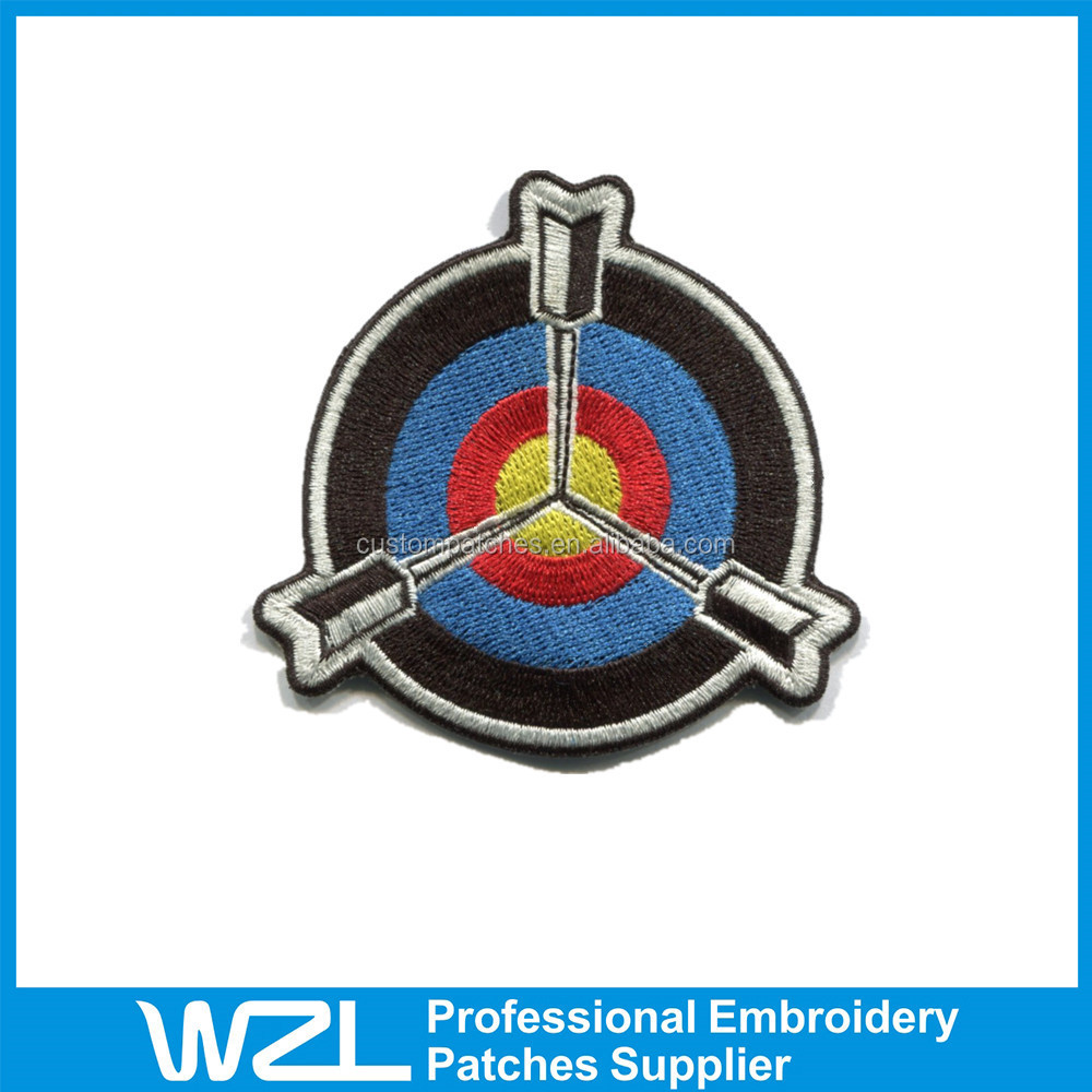 2015 Hot sale Embroidered Patches embroidered crest