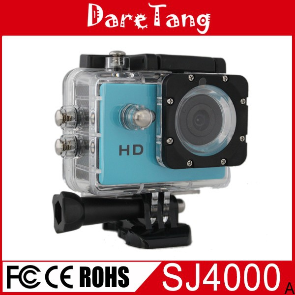 Portable mini waterproof hd 720p extreme action sports camera