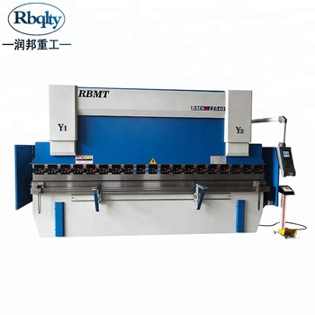 Stainless steel metal folder 3+1 cnc hydraulic press brake for sale
