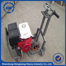Asphalt pavement road notching machine