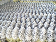Chain Link Mesh Type and Galvanized Iron Wire Material 5x5 hole galvanize d fence factory