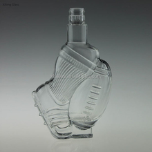 Wine Vodka 500ml Clear Spirits Unique Strange Glass Bottle