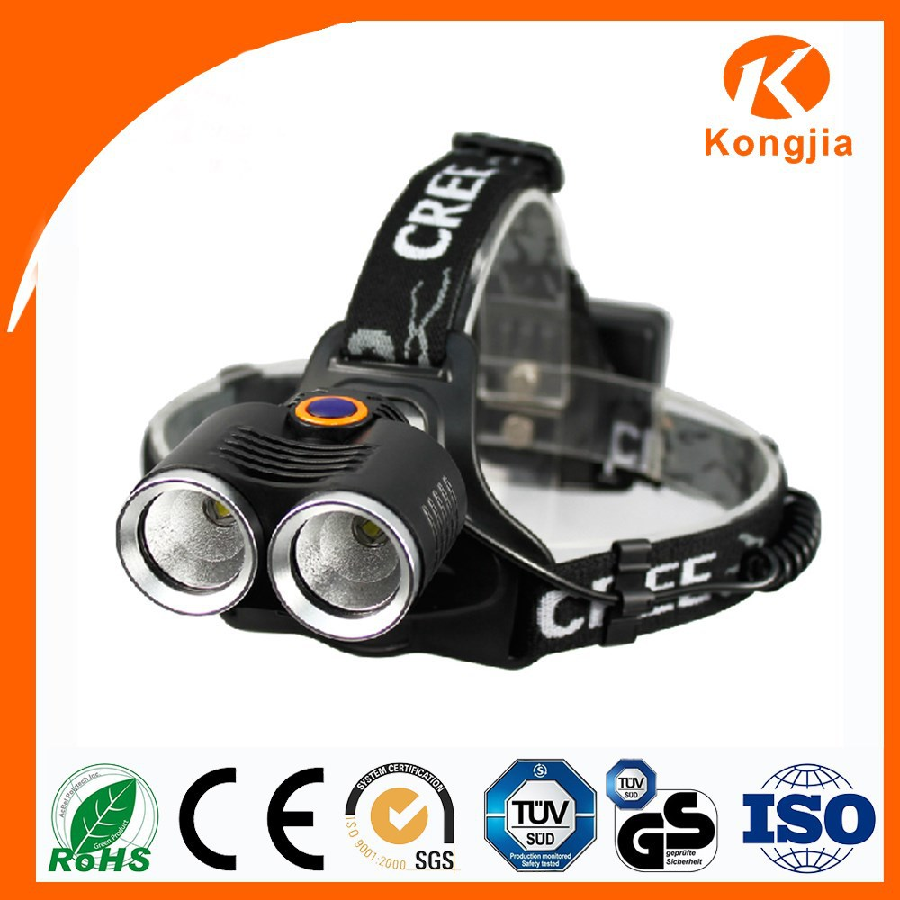 XM-L T6 LED Ultra Bright Rechargeable Aluminium Bicycle Headlamp Solar Powared Headlight