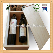 Wine Bottle Packing Box/Wine Storage Box Case/wine wooden box for packing