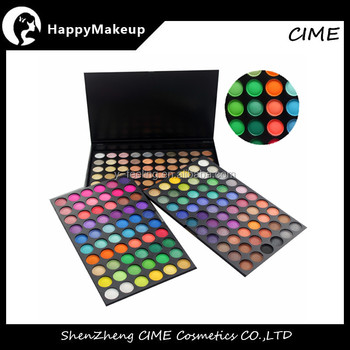 New arriva 3layers design 180 color eyeshadow makeup palette Matte&Shimmer color