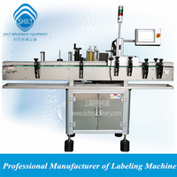 PLM-A Automatic cosmetic bottle adhesive sticker labeler 0086-13671963961