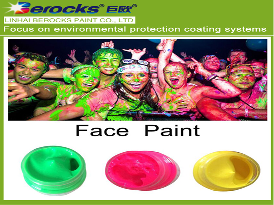 Berocks Soft Last long Easy to wash Body Paint
