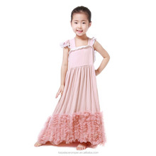 children long frocks designs damask girl dress pictures for children gown 2016