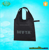 promotional polyester shopping bag fold reusable