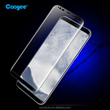 With neutral package Best price 3D screen protector tempered glass for samsung s8