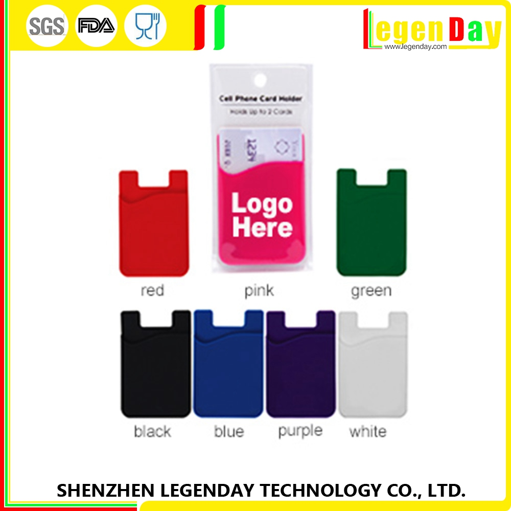 New Product silicone wholesale name card case