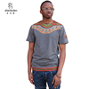 2018 Latest desgins shirt for men African kitenge dashiki print cotton T shirts
