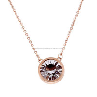 IJN0073 China factory 316l stainless steel necklaces wholesale jewelry fashion necklaces