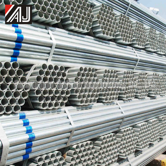 Guangzhou Manufacture 48mm Scaffolding Galvanized Steel Pipes