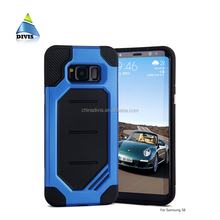 Hot Sale Soft TPU Case Hard PC 2in1 Hybrid Phone Case Shockproof Armor Cover Case for Samsung Galaxy S8 Plus Rugged