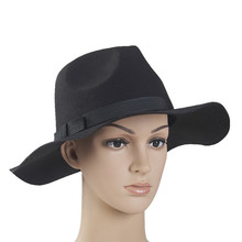 Fashion Decorate Cheap Floppy Felt Hillbilly Hat