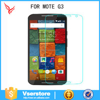 For moto G3 Anti scratch tempered glass screen protector mobile accessories glass shield