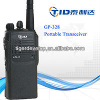 Best price vhf uhf handheld 5w GP328 professonal walkie talkie radio for motorola