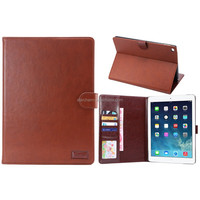 Wholesale price for ipad air 2 leather smart case