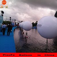 2m PVC LED stand balloon meet CE ROS Hcerificate.made in China