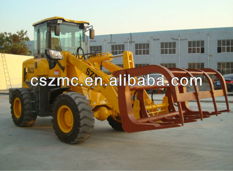 grass fork 928 wheel loader with 60kw engine new Joystick and quick hitch wheel loader zl28f