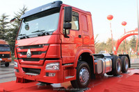 brand new euro 3 sino truck howo a7 tractor head trailer truck 6x4 for sale