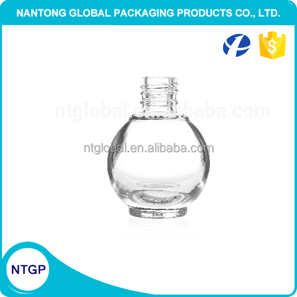 10ml ball shape glass nail polish bottle