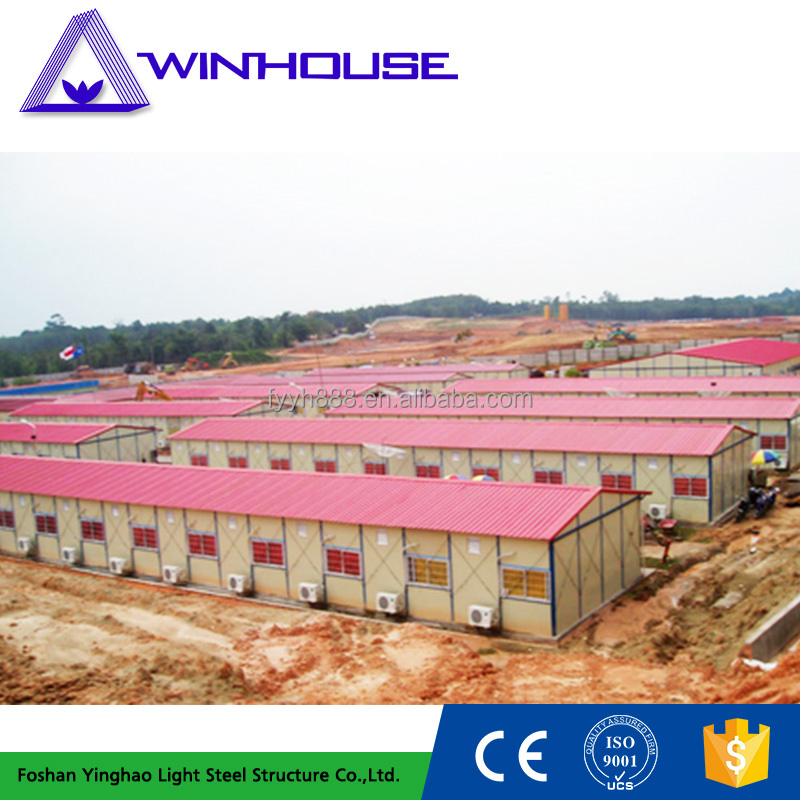 cheap movable houses temporary worker housing for sale