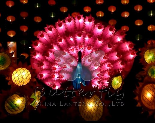 2016 moving christmas decorations safari world animal lanterns traditional chinese lantern
