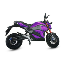 2017 most popular 2000w 2 seat electric motorcycle