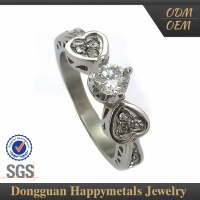 Cheap Jewelry O Shape Fashion Ring Design