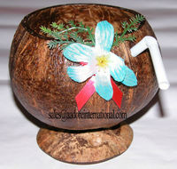 Coconut Drinkwaer handemade for practical home use, promotional and/or gift