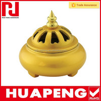 EXW/FOB/CIF shipping terms supply sand casting brass incense burner