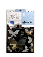 New style hot sale mirror coated paper sticker sheets