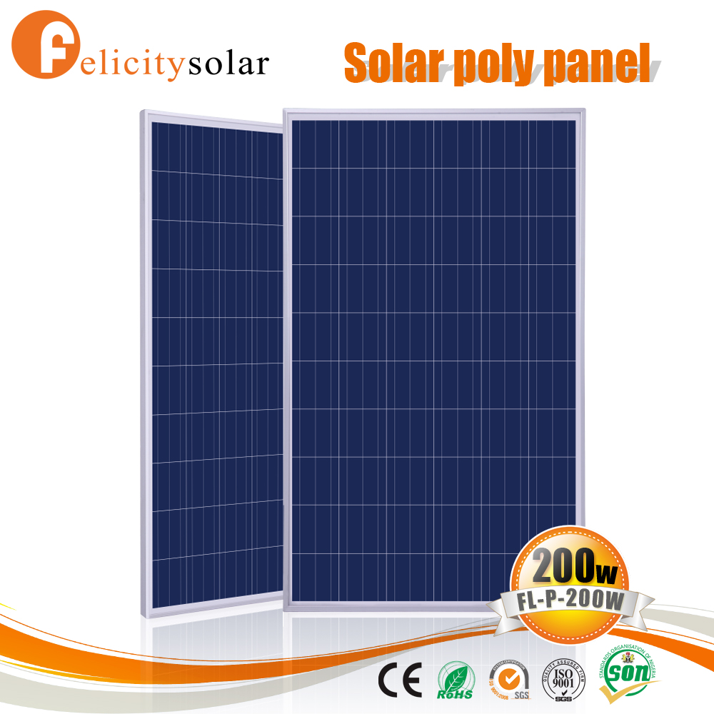 hot sale factory price 200w polycrystalline solar panels with great price