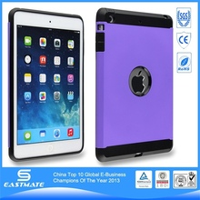 Luxury pc case plastic protective cover for apple ipad mini