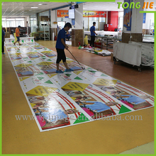 High structure PVC flex banner for solvent printing