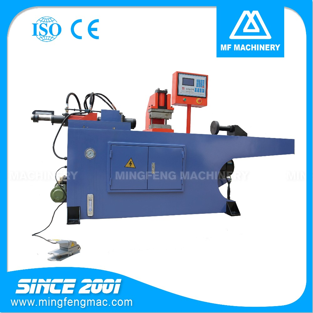 PM-38 pipe end processing hydraulic single-head tube end forming machine