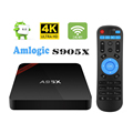 Nexbox A95X TV Box Android 6.0 1GB/8GB Amlogic S905X Quad Core 4K HD Box with WiFi Kodi 16.1 android internet stream tv box