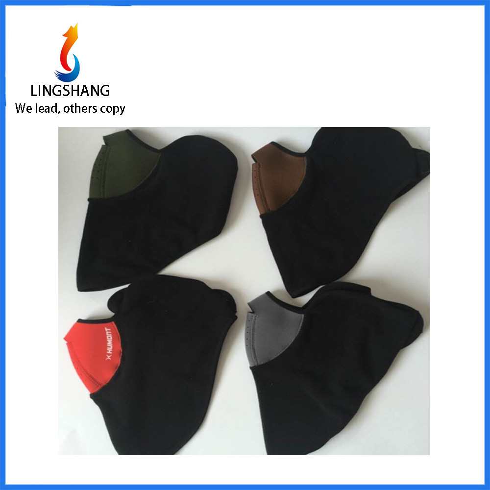 LINGSHANG bicycle helmet windproof breathable mask warm half face mask