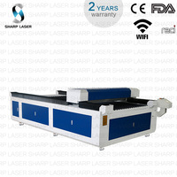 CC1325M yongli 260w laser tube metal laser cutting machine 1325 steel