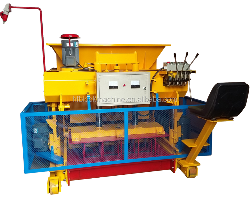 Semi automatic used concrete block making machine for sale QT6-30 mobile used concrete block making machine for sale