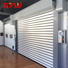color steel garage automatic aluminum industrial door