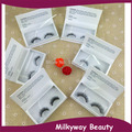 Customized white paper box mink fur false eyelash magnet box mink strip lashes