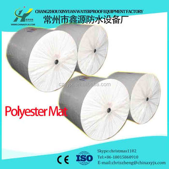 Cheap Nonwoven Polyester Mat For Selfadhesive Waterproof Membranes